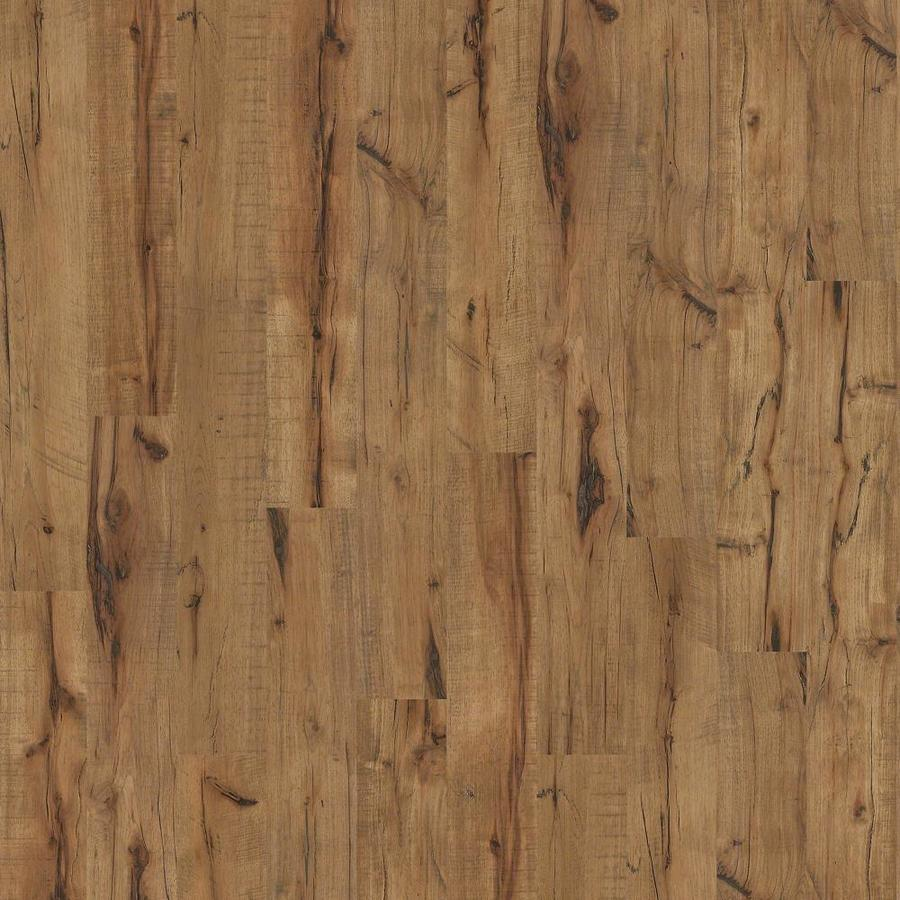 Style Selections Antique Hickory 5 43 In W X 3 976 Ft L Handsed Wood Plank