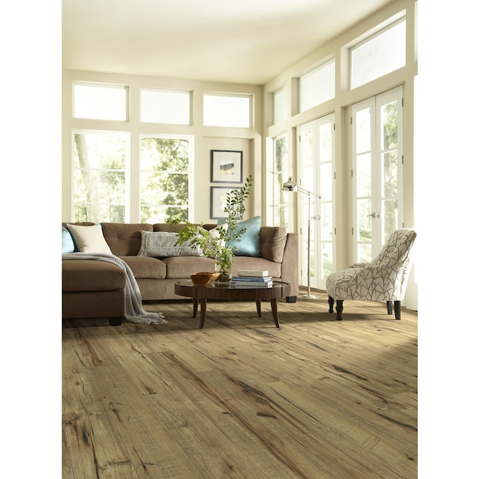 Style Selections Antique Hickory 5 43 In W X 3 976 Ft L