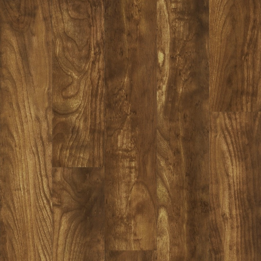 Style Selections Polished Birch High Gloss Laminate Floor