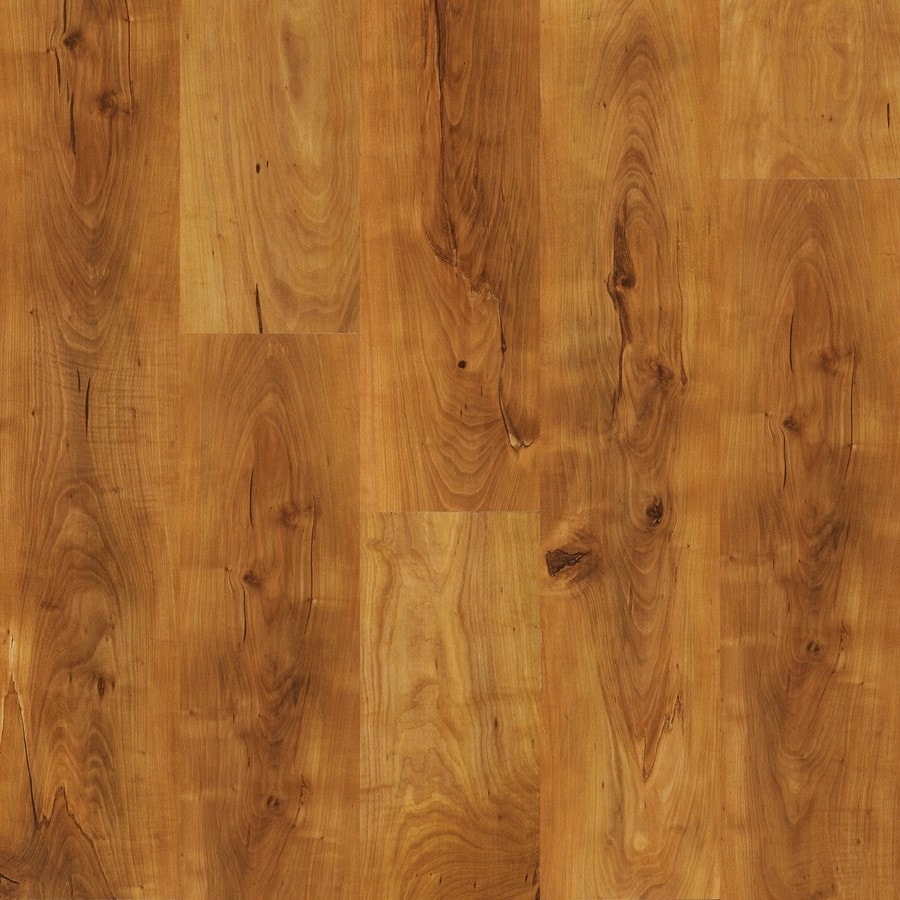 Project Source Traditional Pine Embossed Laminate Floor Wood Planks