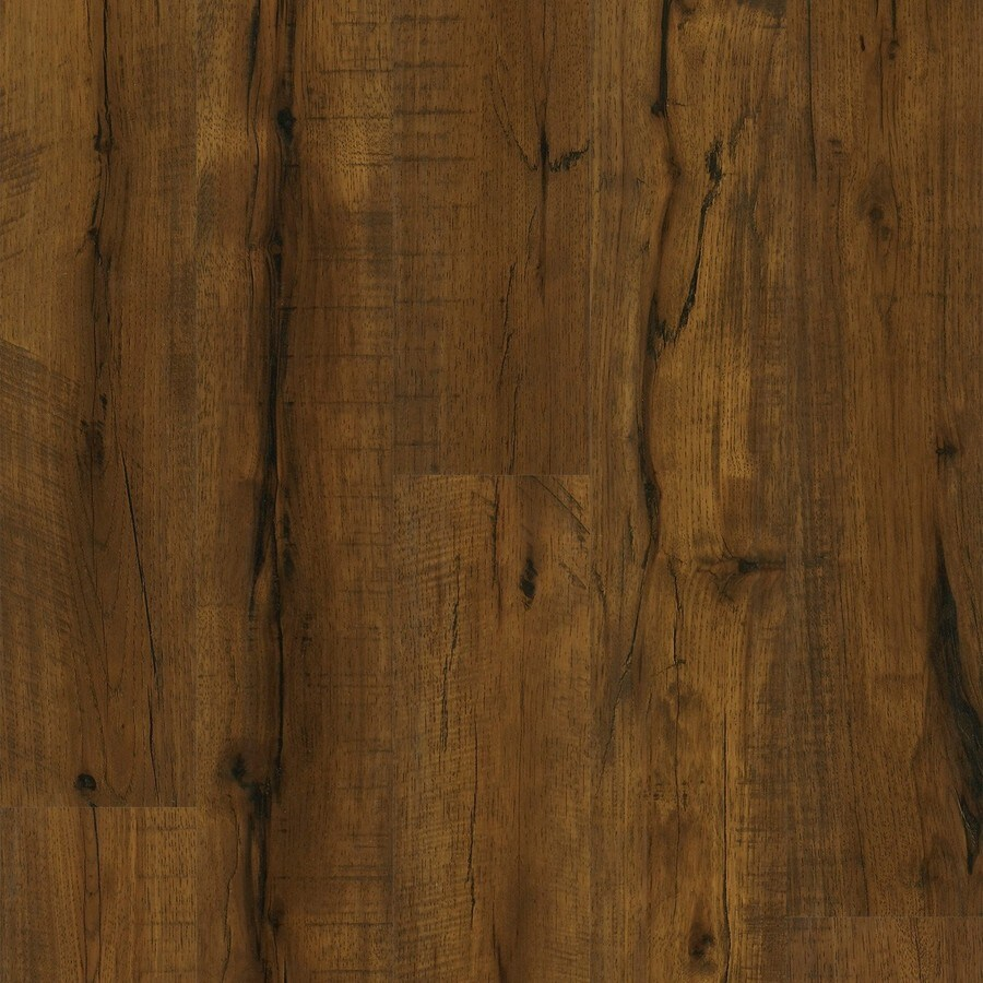 Style Selections Weathered Hickory Wood Planks Laminate Flooring Sample