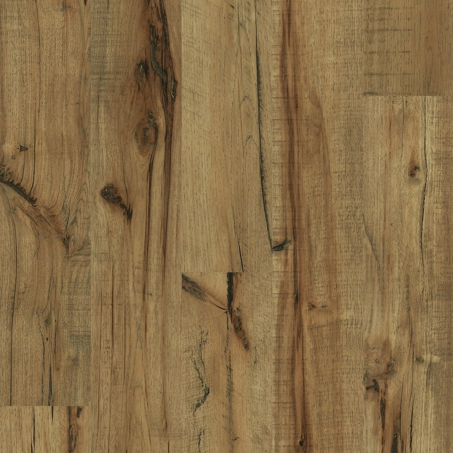 Style Selections Antique Hickory Wood Planks Laminate Flooring Sample