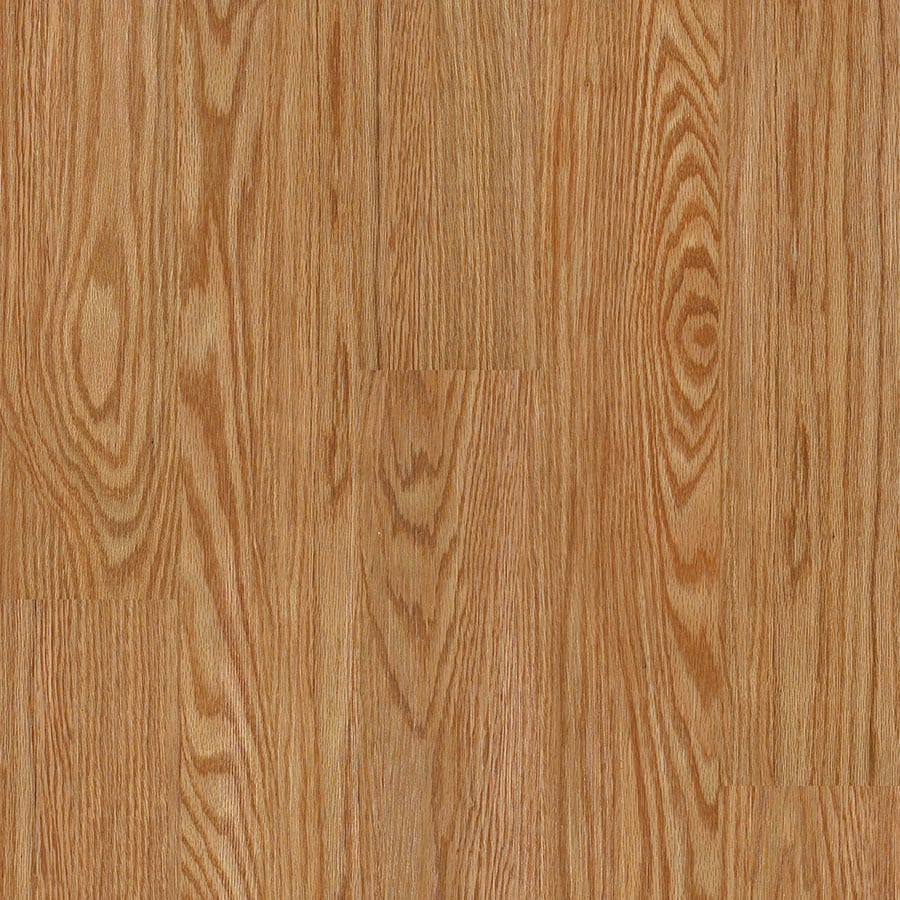 Shaw 10-Piece 5.9-in x 48-in Coastal Oak Floating Luxury Vinyl Plank
