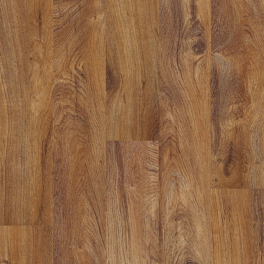 Shaw 10 Piece 5 9 In X 48 Plantation Teak Floating Luxury Vinyl