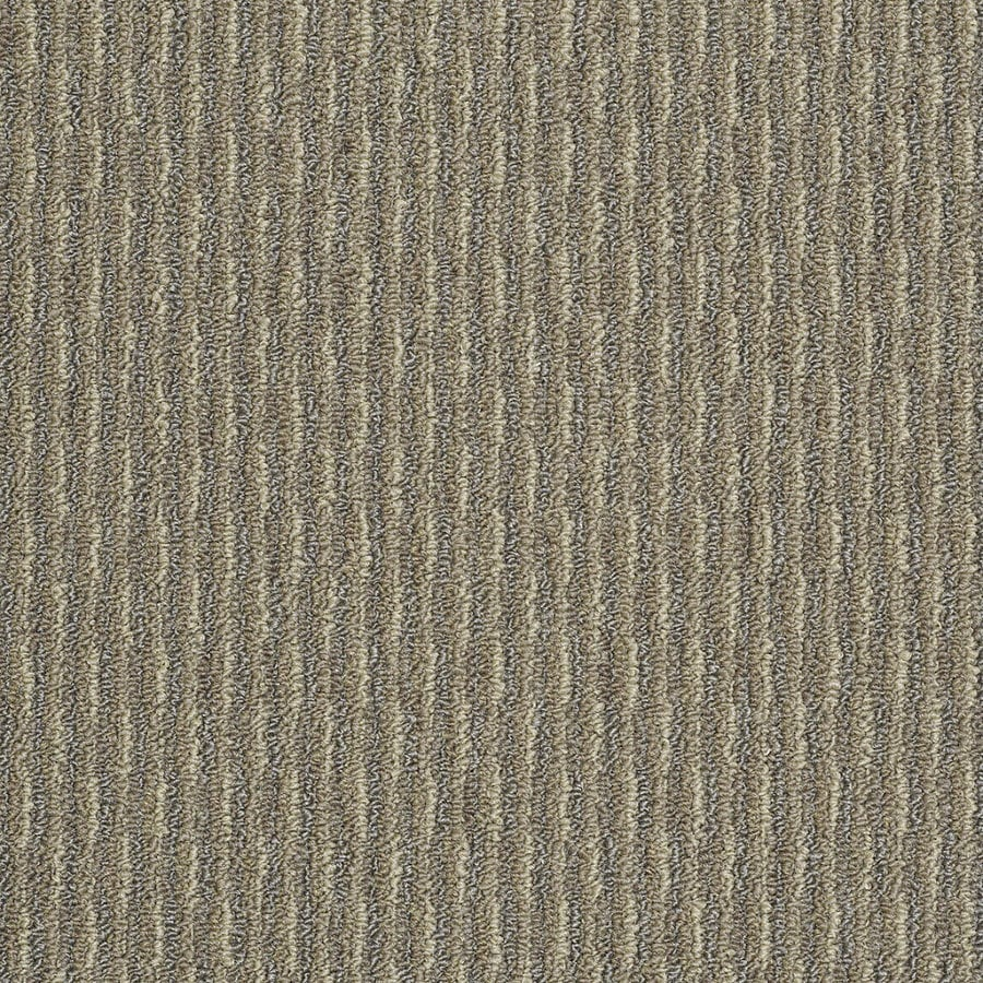 Shaw Home and Office Bayou Beige Berber/Loop Interior/Exterior Carpet