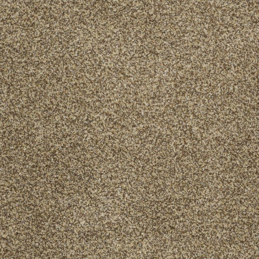 STAINMASTER TruSoft Private Oasis II Sahara Gold Textured Indoor Carpet
