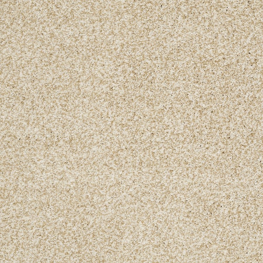STAINMASTER TruSoft Peaceful Mood I 12-ft W Barely There Textured Interior Carpet