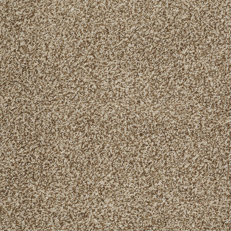 STAINMASTER TruSoft Peaceful Mood I Taupe Charm Textured Indoor Carpet