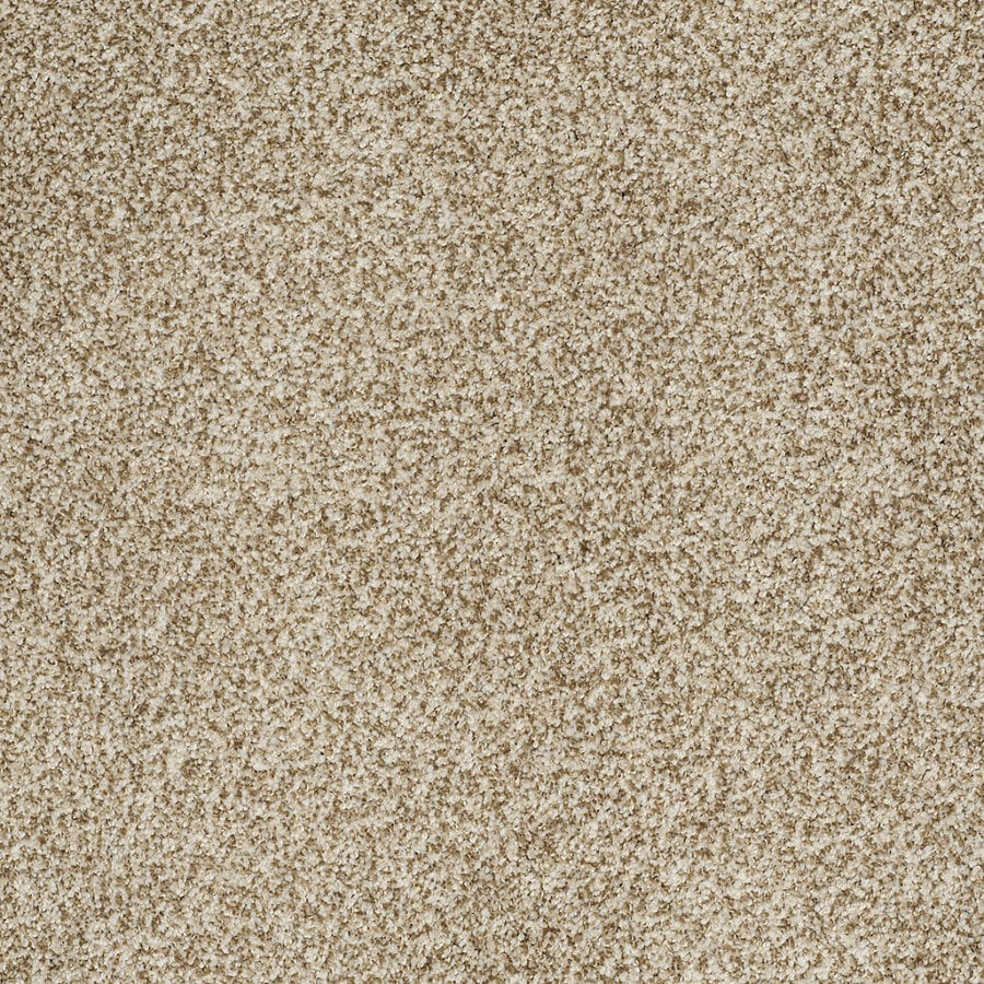STAINMASTER TruSoft Peaceful Mood II Light Mocha Textured Interior Carpet