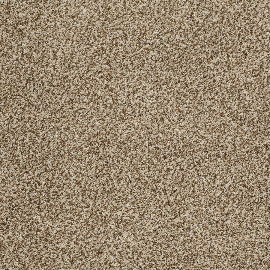 STAINMASTER TruSoft Peaceful Mood II 12-ft W Taupe Charm Textured Interior Carpet