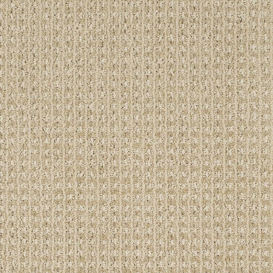 STAINMASTER Trusoft Rising Star Cozy Light Berber/Loop Interior Carpet
