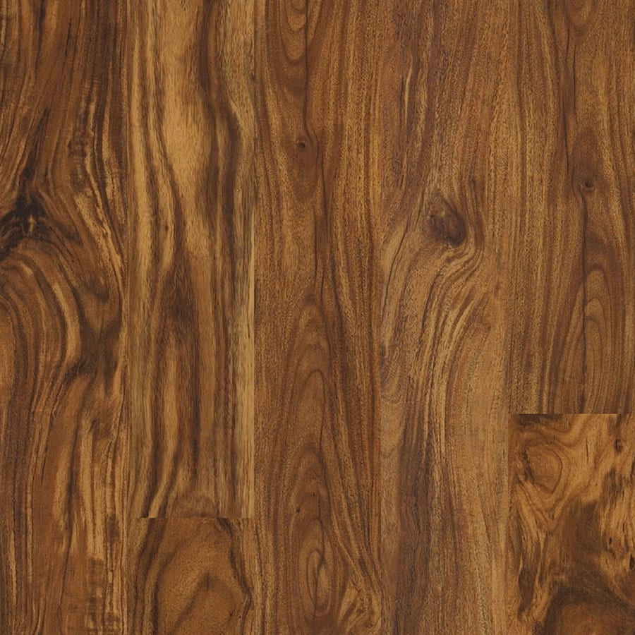 Shop Shaw 10 Piece 5 9 In X 48 In Artesian Acacia Floating