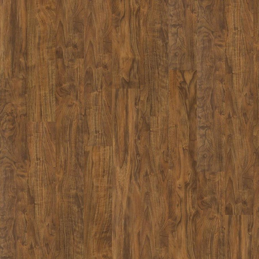 Shaw Effortless Design 8-Piece 6-in x 48-in Landscape Loose Lay Walnut Luxury Commercial/Residential Vinyl Plank