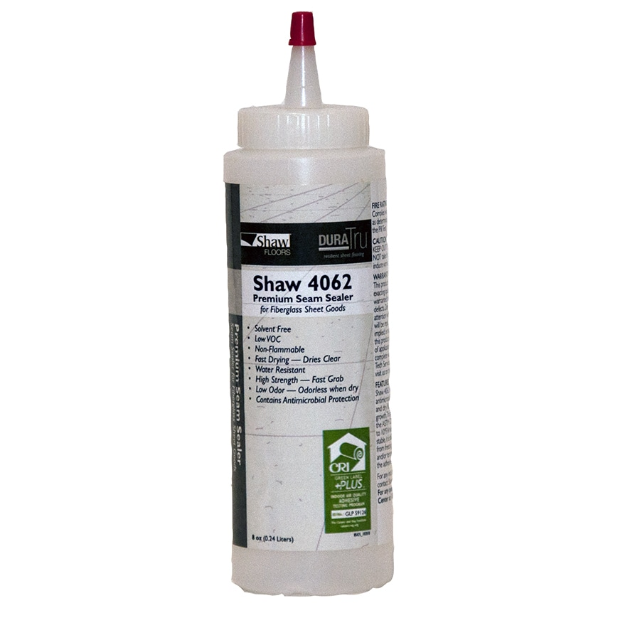Vinyl tile seam sealer mannington standard gloss seam for How to seal vinyl flooring seams