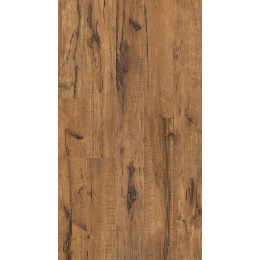 Shaw 5.43-in W x 3.98-ft L Grand View Handscraped Wood Plank Laminate Flooring