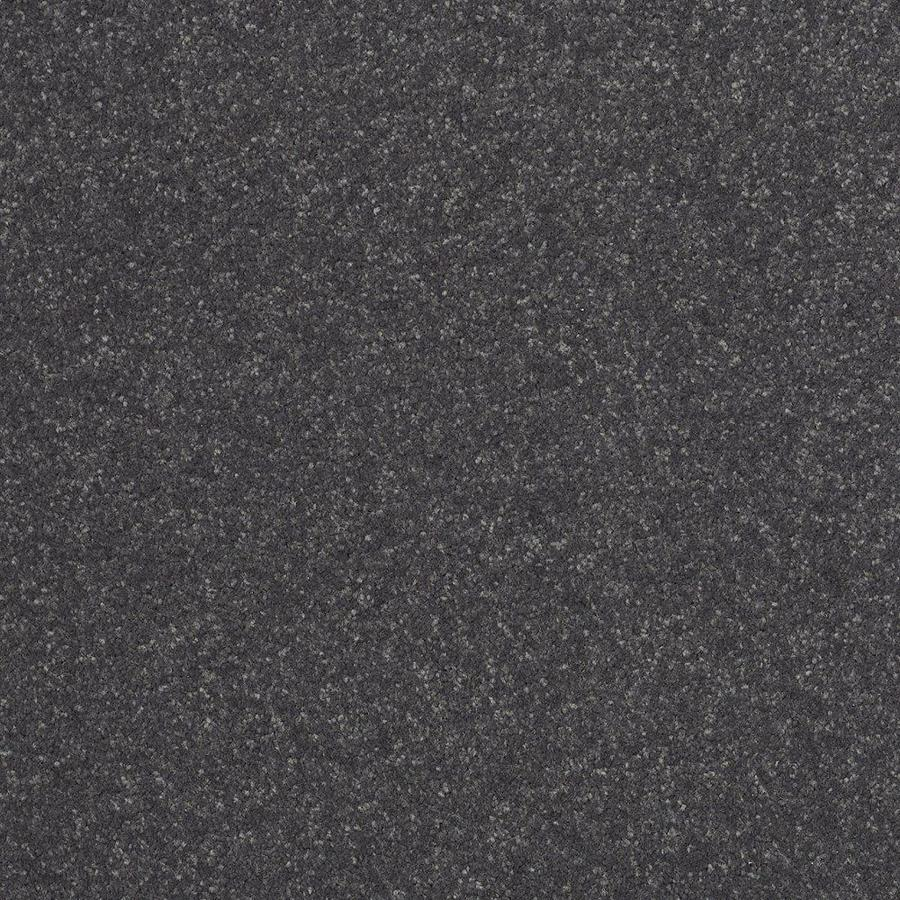 Shaw 12-ft W x Cut-to-Length Gray/Silver Textured Interior Carpet