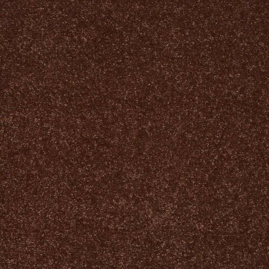 Shaw Cornerstone Collection 12-ft W Orange/Peach/Apricot Textured Interior Carpet