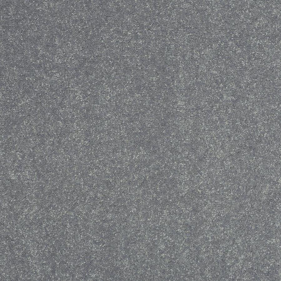 Shaw 15-ft W x Cut-to-Length Gray/Silver Textured Interior Carpet