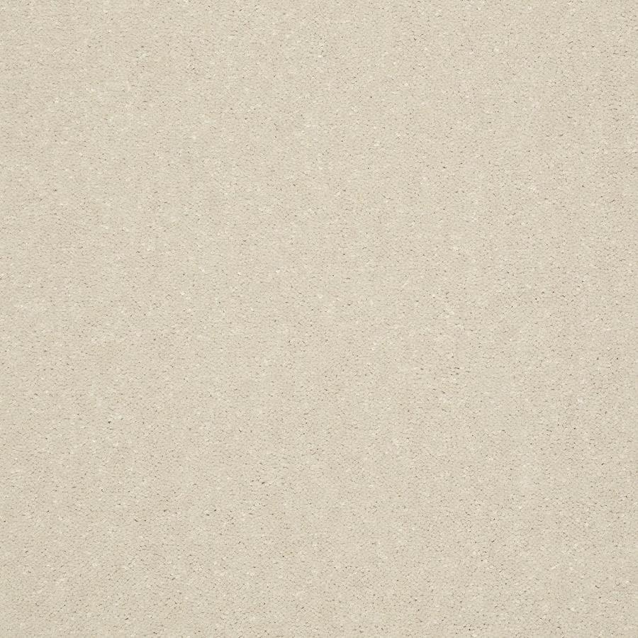 Shaw 12-ft W x Cut-to-Length Cream/Beige/Almond Textured Interior Carpet