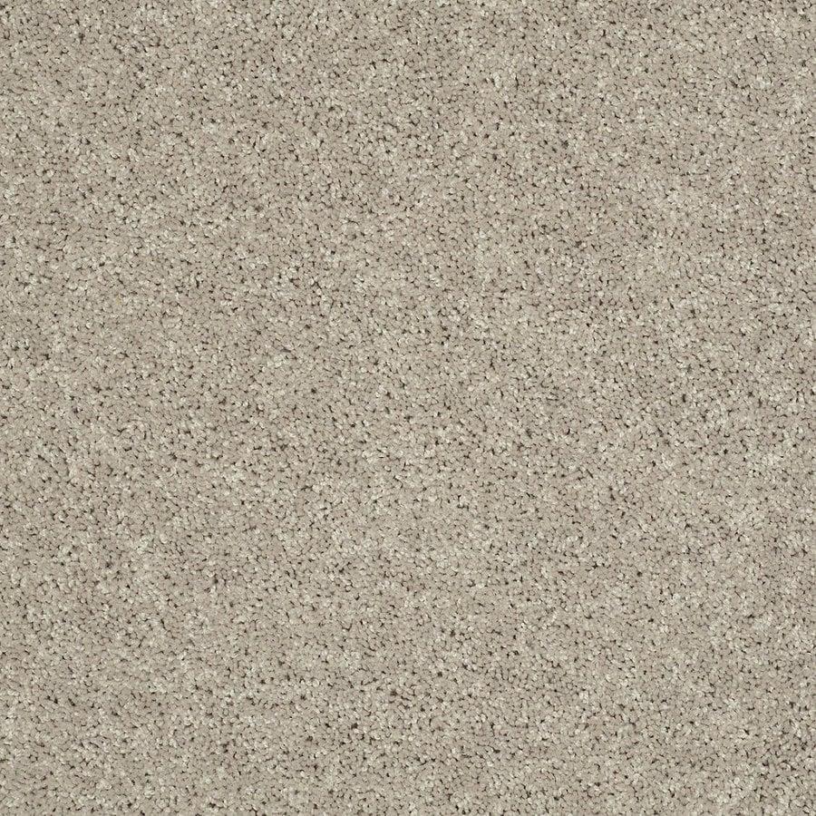 STAINMASTER Essentials Allegiance- S 12-ft W Cream/Beige/Almond Textured Interior Carpet