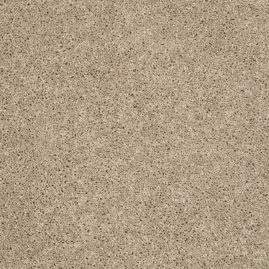 STAINMASTER Essentials Allegiance S 12-ft W x Cut-to-Length Cream/Beige/Almond Textured Interior Carpet