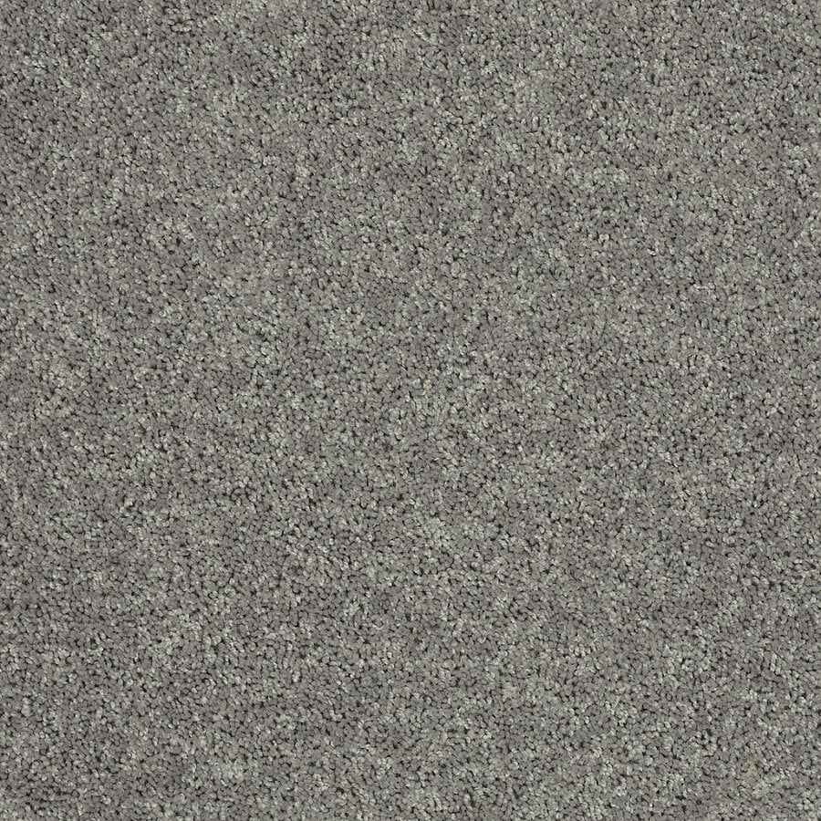STAINMASTER Essentials Allegiance - S Gray/Silver Textured Indoor Carpet