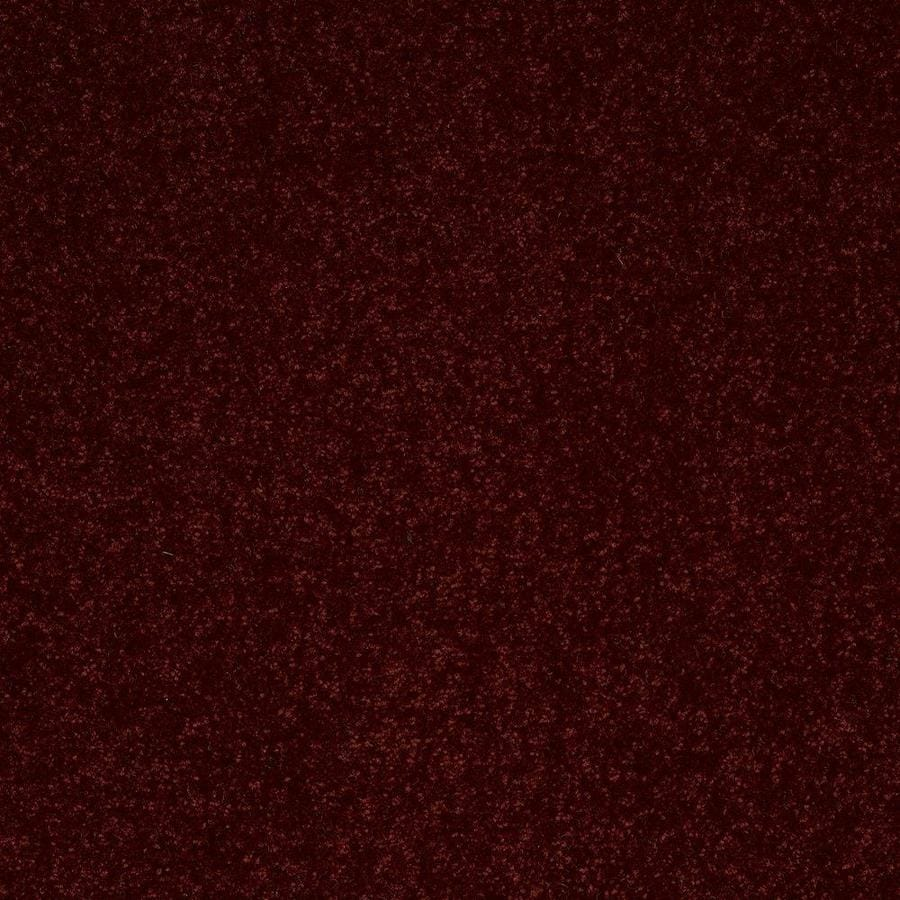 Shaw 12-ft W x Cut-to-Length Apache Red Textured Interior Carpet