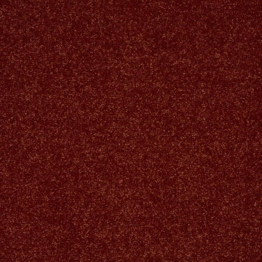 Shaw Cornerstone 15-ft W Warm Sienna Textured Interior Carpet