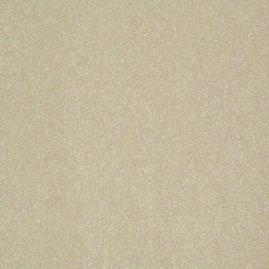 Shaw Cornerstone 15-ft W Pearly Gates Textured Interior Carpet