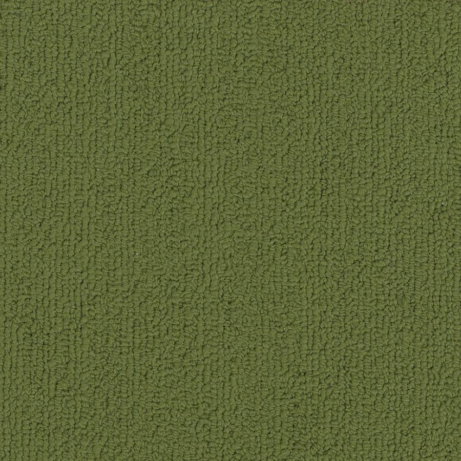 Shop Shaw Commercial Green Berber Indoor Carpet At Lowes Com