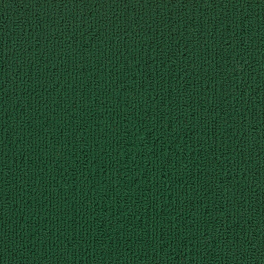 Shaw Accentuate Bl Dark Green Berber Loop Interior Carpet