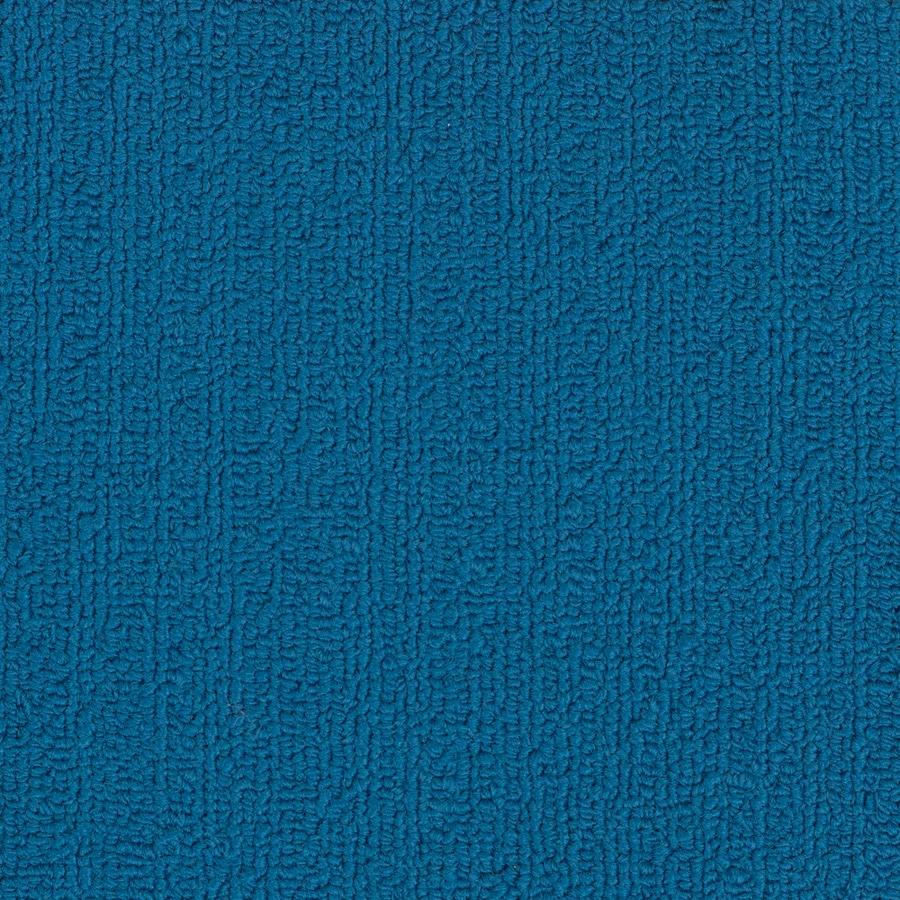 Shaw Commercial Blue Berber Indoor Carpet