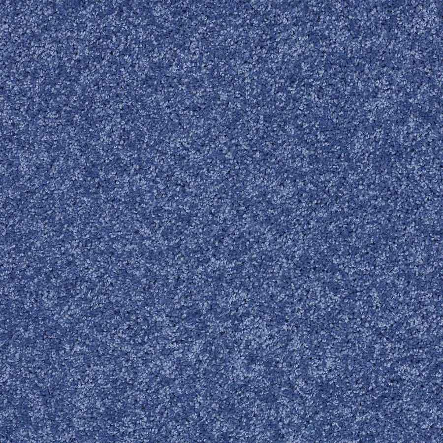 Shaw Cornerstone Cobalt Vibe Textured Indoor Carpet