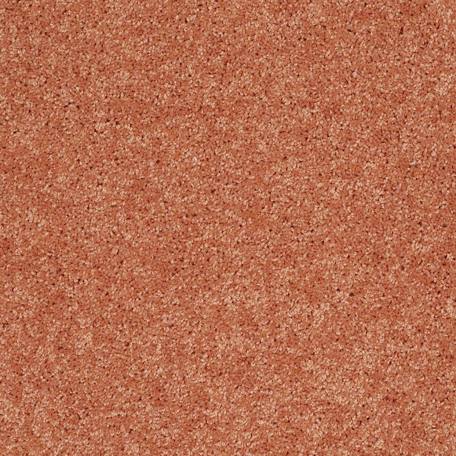 Shaw Candyland Tangerine Twist Textured Interior Carpet