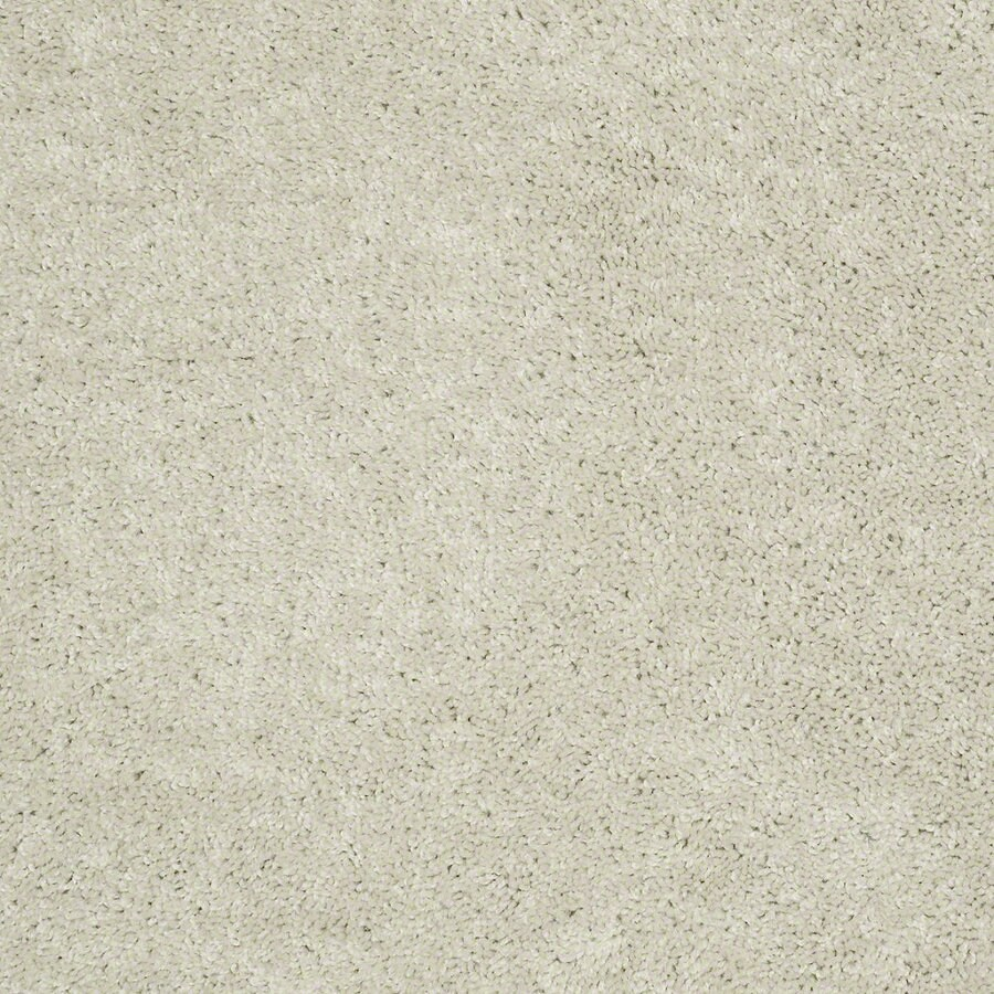 Shaw Batter Up I 15-ft W x Cut-to-Length Angel Cloud Textured Interior Carpet