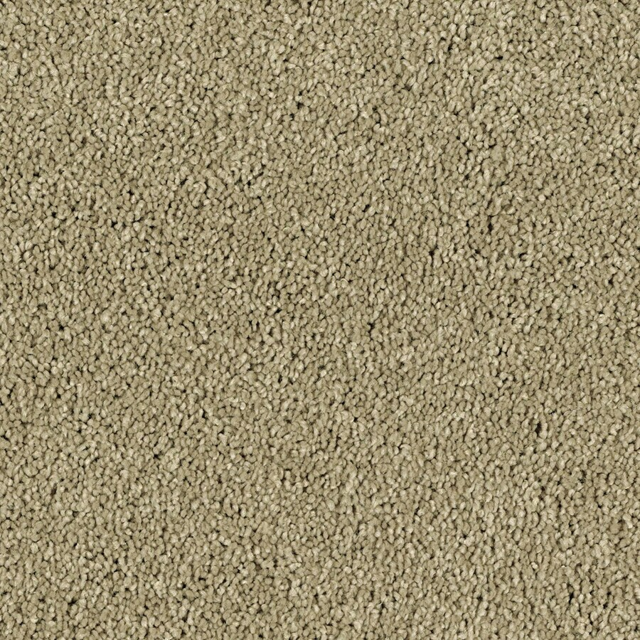 STAINMASTER Essentials Soft and Cozy I S 12-ft W x Cut-to-Length Deer Field Textured Interior Carpet