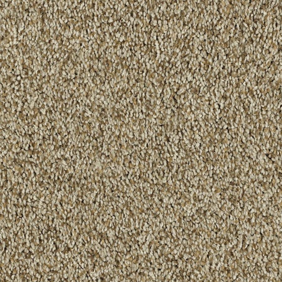Shaw Essentials Soft and Cozy I- T 12-ft W Golden Oak Textured Interior Carpet
