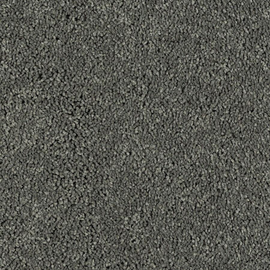 Shaw Essentials Soft and Cozy II - S Charcoals Textured Indoor Carpet
