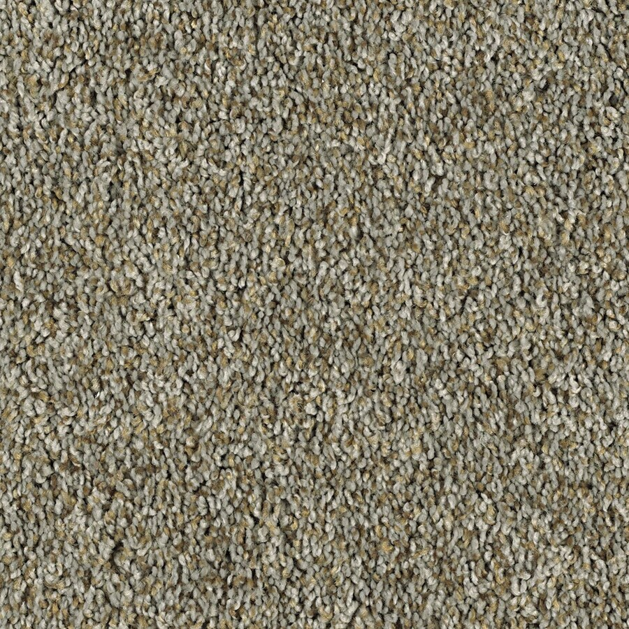 Shaw Essentials Soft and Cozy II - T Brushed Nickel Textured Indoor Carpet