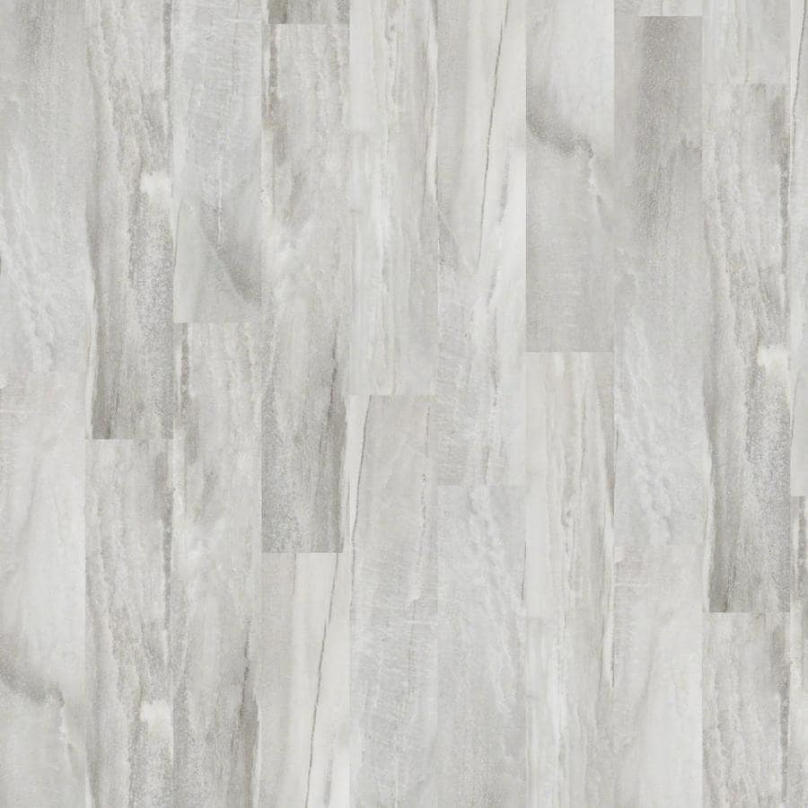 Shaw Effortless Elegance 12-Piece 6-in x 36-in Latte Loose Lay Marble Luxury Commercial/Residential Vinyl Tile