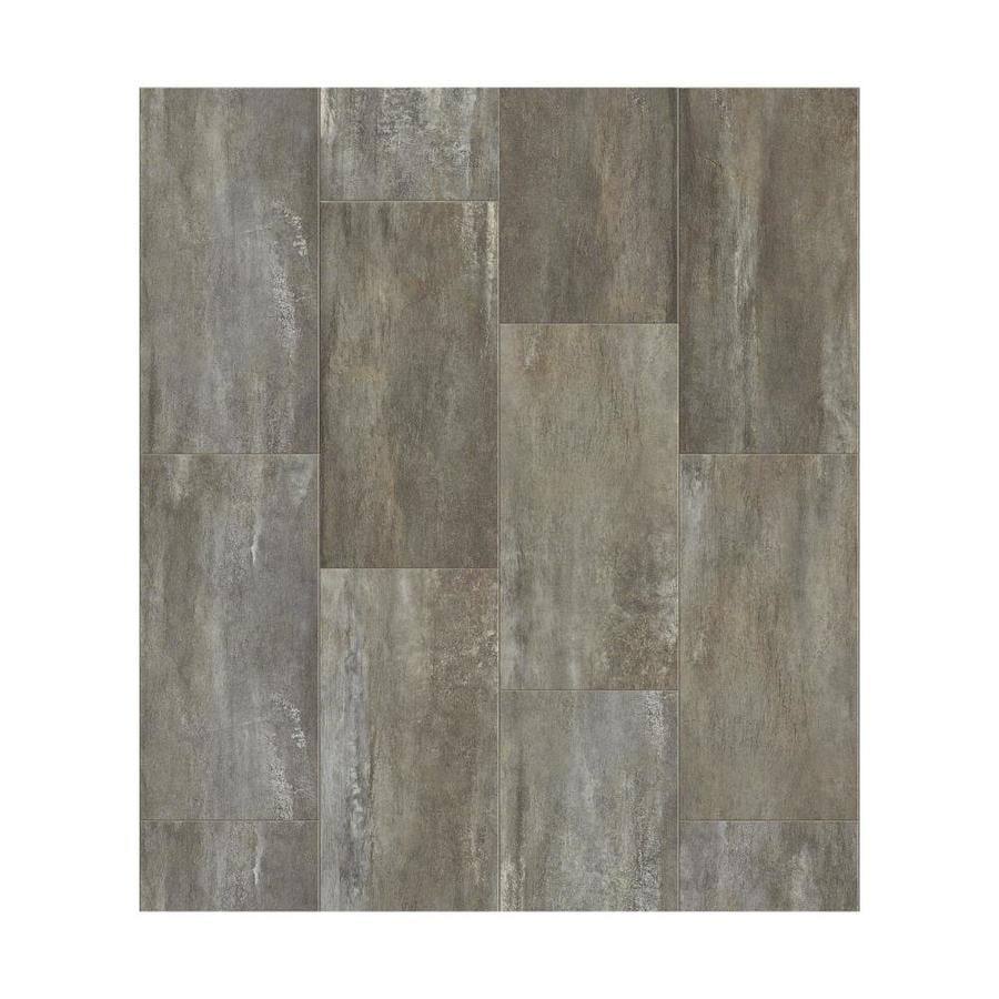 Shaw Effortless Artistry 9-Piece 12-in x 24-in Attitude Loose Lay Stone Luxury Vinyl Tile