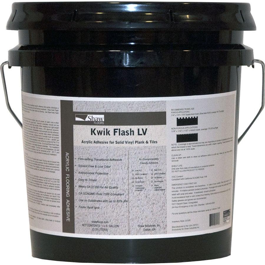 Shaw Kwik Flash Clear Flooring Adhesive (1-Gallon)