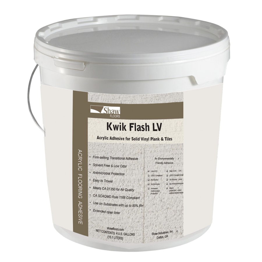 Shop Shaw Kwik Flash 4 Gallon Vinyl Tile And Plank
