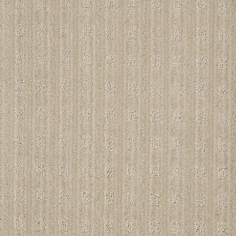 STAINMASTER Active Family Apricot Lane Euro Linen Berber Indoor Carpet