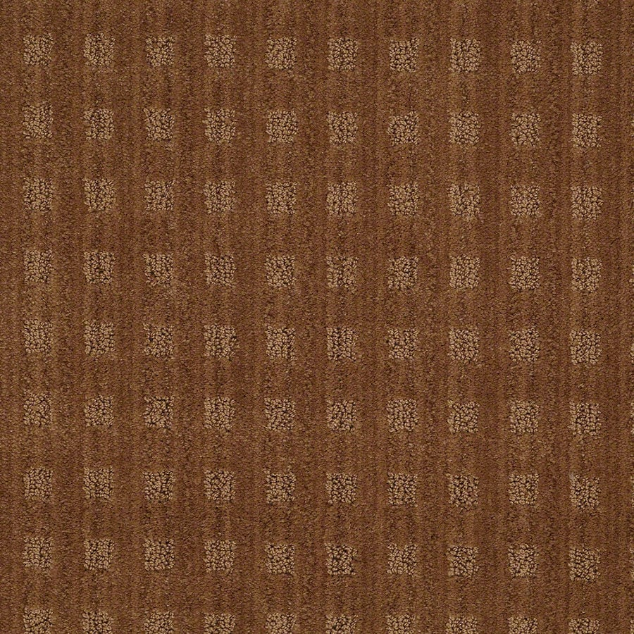 STAINMASTER Active Family Apricot Lane Melted Copper Berber/Loop Interior Carpet