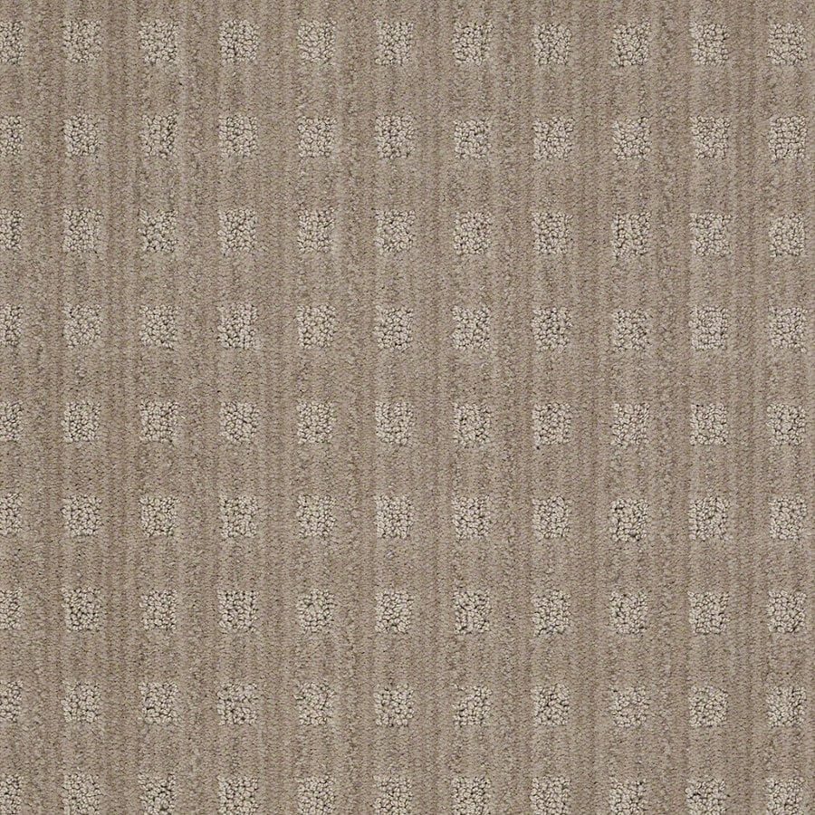 STAINMASTER Active Family Apricot Lane Miner's Dust Berber/Loop Interior Carpet
