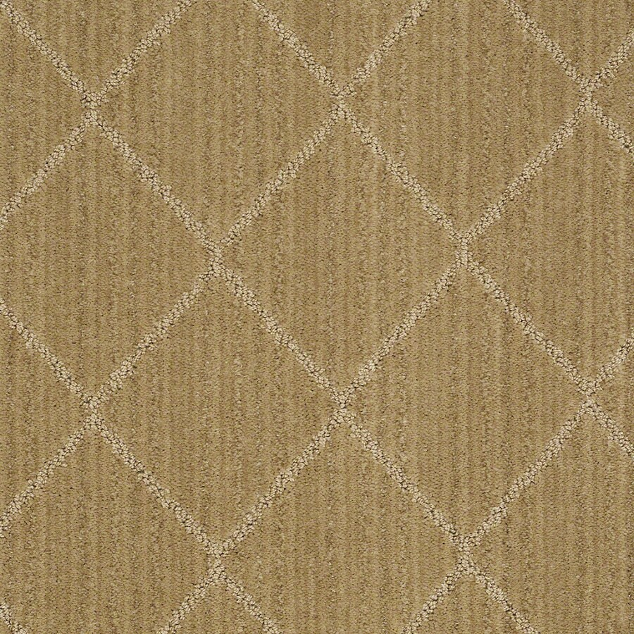 STAINMASTER Active Family Cross Creek 12-ft W Honey Grove Berber/Loop Interior Carpet