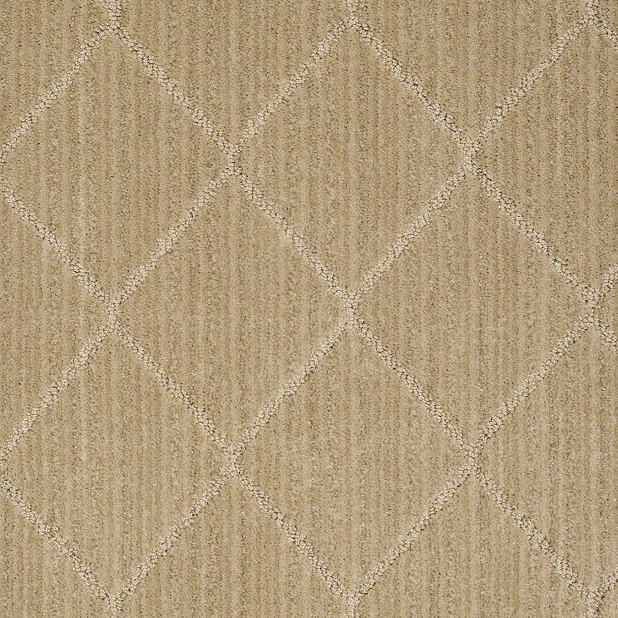 STAINMASTER Active Family Cross Creek Crushed Cashew Berber Indoor Carpet