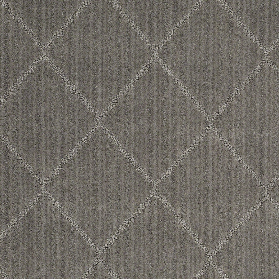 STAINMASTER Active Family Cross Creek Pebble Walk Berber/Loop Interior Carpet