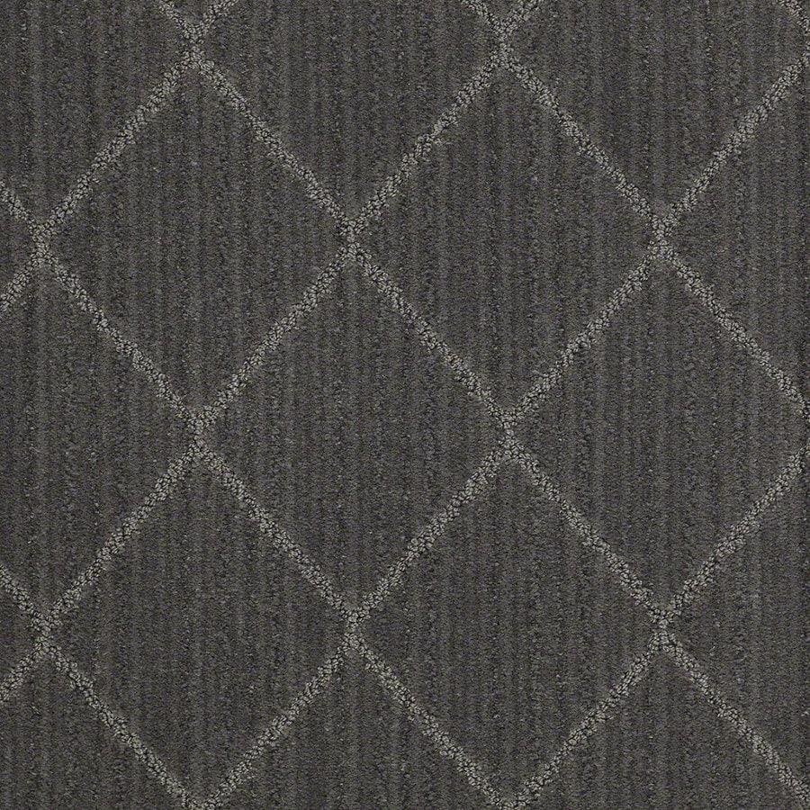 STAINMASTER Active Family Cross Creek 12-ft W Skyline Steel Berber/Loop Interior Carpet